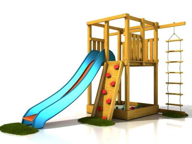 Palis Gym Dřevěné dětské hřiště - Stavebnice hřiště Anička