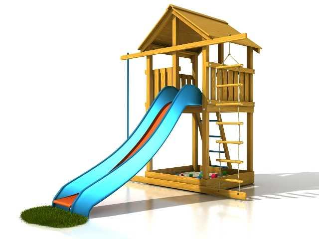 Palis Gym Dřevěné dětské hřiště - Stavebnice hřiště Eliška