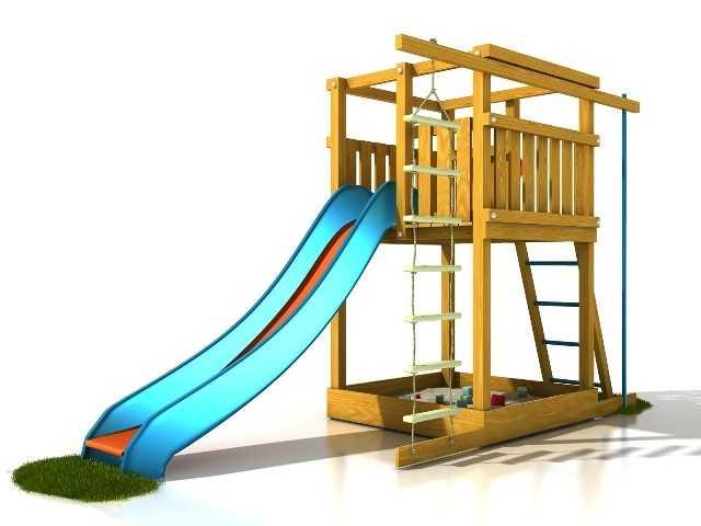 Palis Gym Dřevěné dětské hřiště - Stavebnice hřiště Terezka