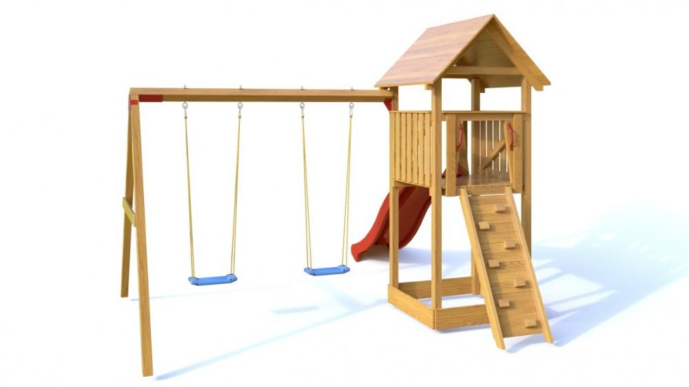 Palis Gym Dřevěné dětské hřiště - Dětské hřiště DÁŠENKA