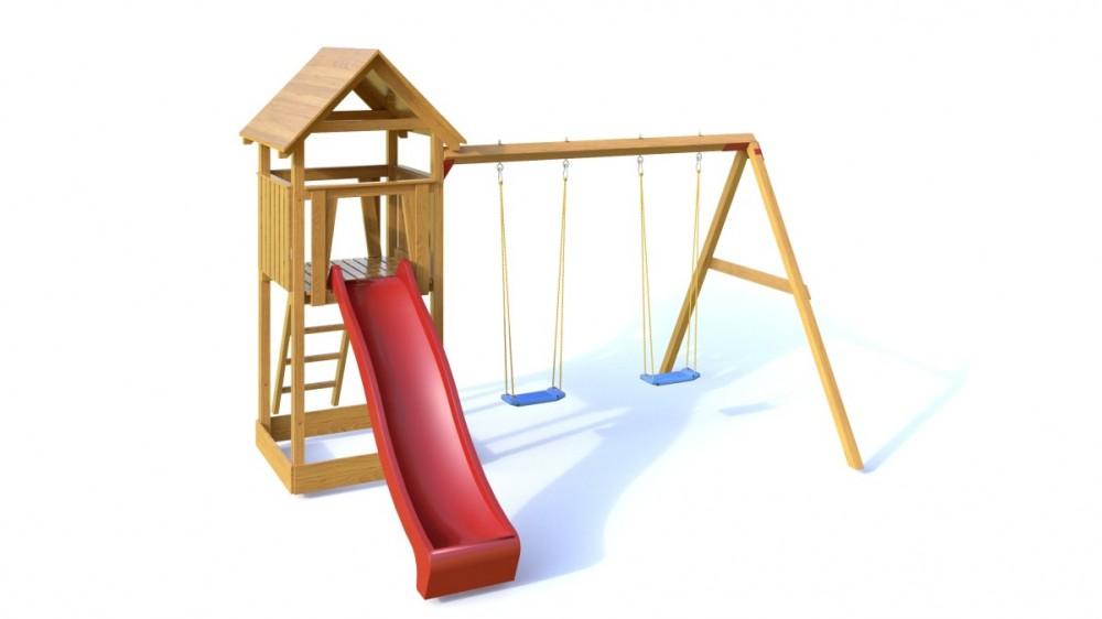 Palis Gym Dřevěné dětské hřiště - Dětské hřiště NATÁLKA