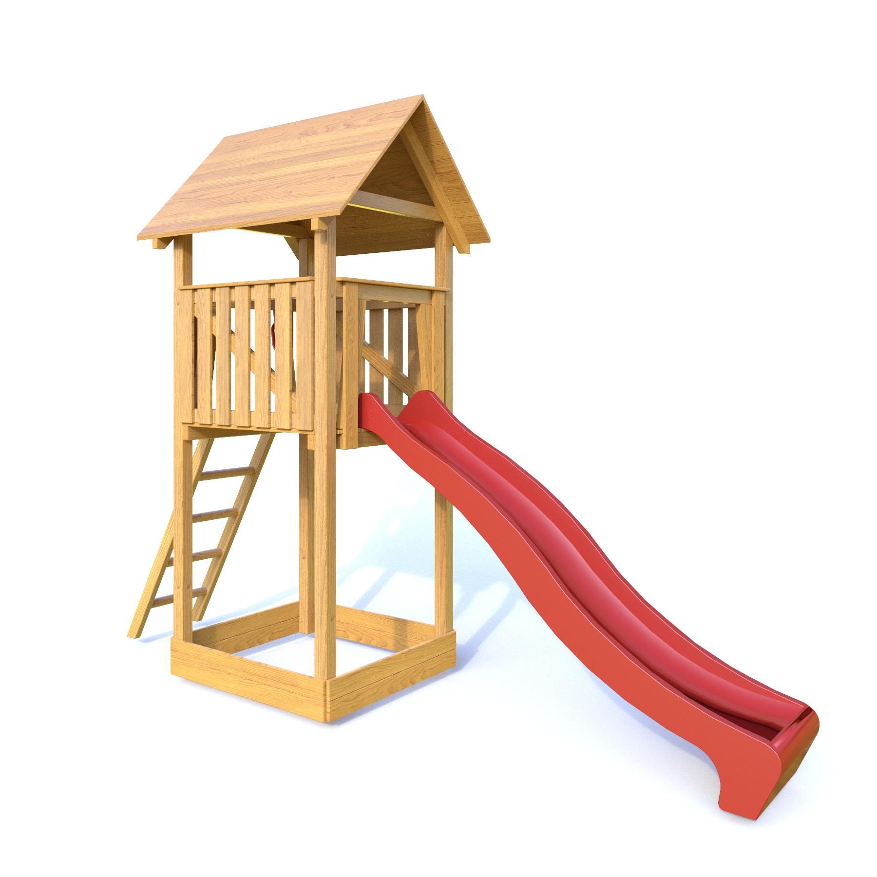 Palis Gym Dřevěné dětské hřiště - Stavebnice hřiště Lucinka