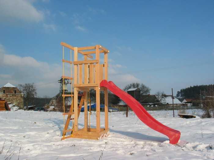 Palis Gym Dřevěné dětské hřiště - Stavebnice - Modul Start