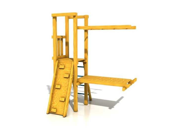 Palis Gym Dřevěné dětské hřiště - Stavebnice - Modul Šikula