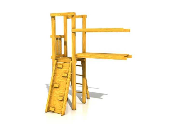 Palis Gym Dřevěné dětské hřiště - Stavebnice - Modul Lávka
