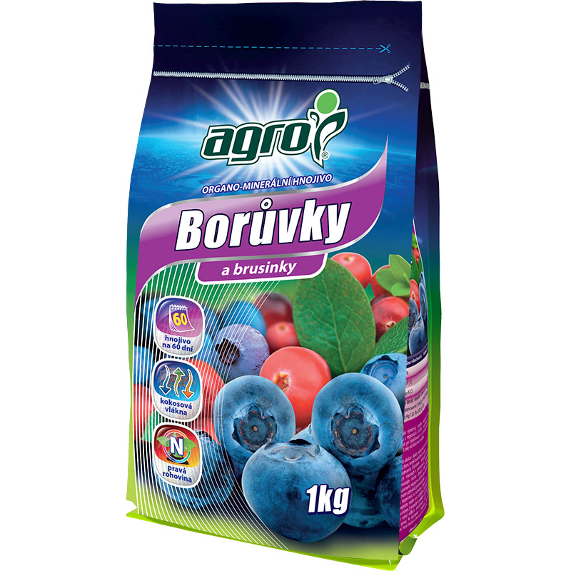 Organominerální hnojivo AGRO borůvky a brusinky 1 kg