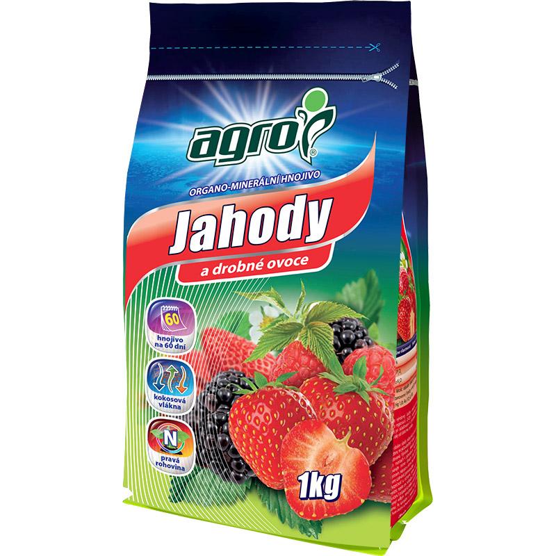 Organominerální hnojivo AGRO jahody 1 kg