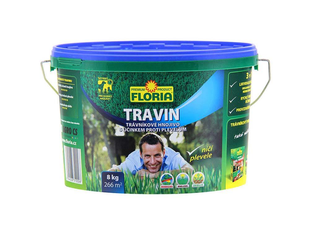 Agro Hnojivo na trávníky FLORIA Travin 8 kg