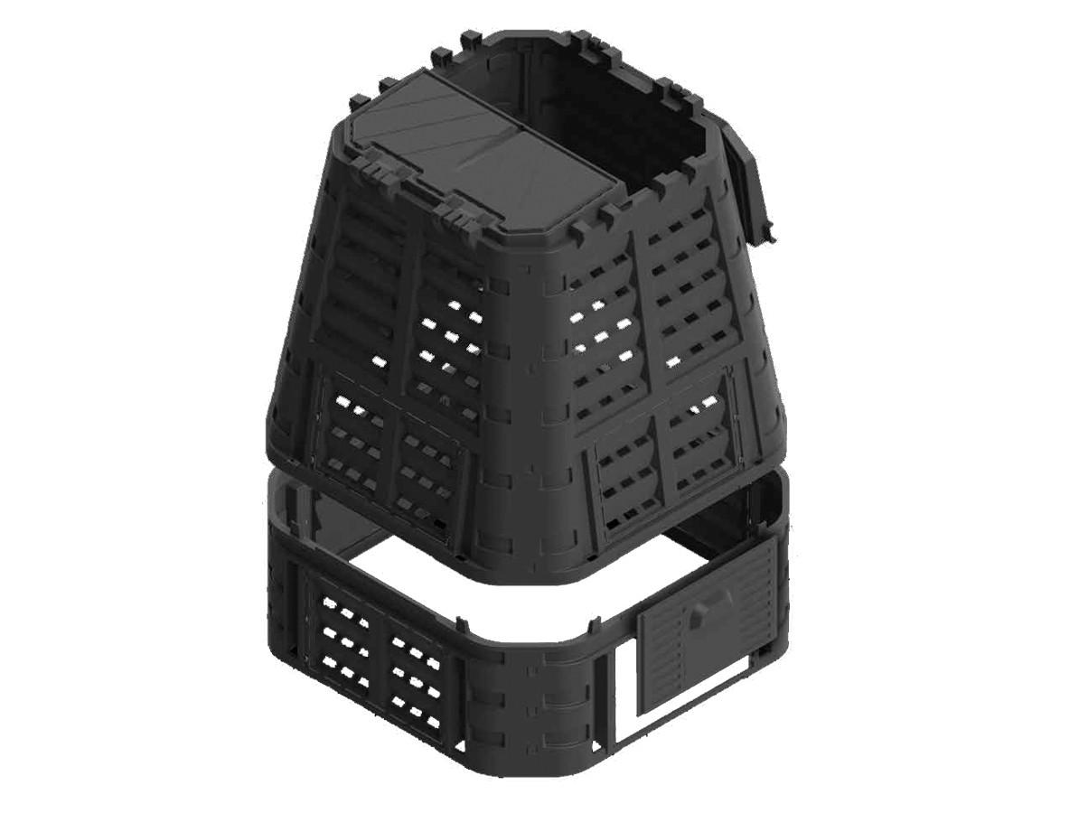 Gutta Kompostér Multi 650 l černá