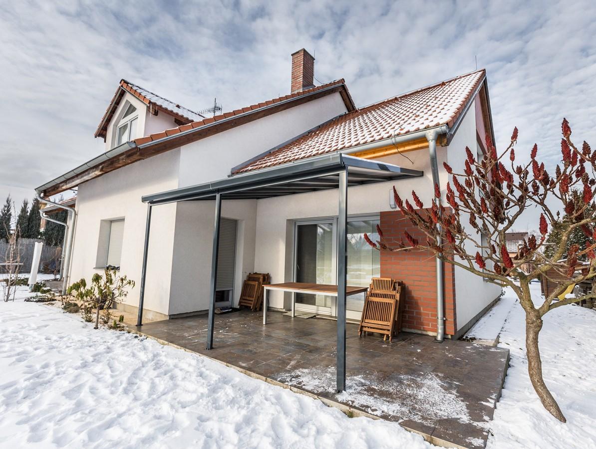 Gutta Terrassendach original 5,46 x 3,06 m - antracit