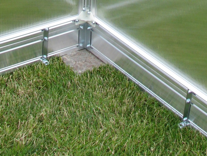 Gutta Základna pro zahradní skleníky Gardentec F3 - 230 x 228 cm
