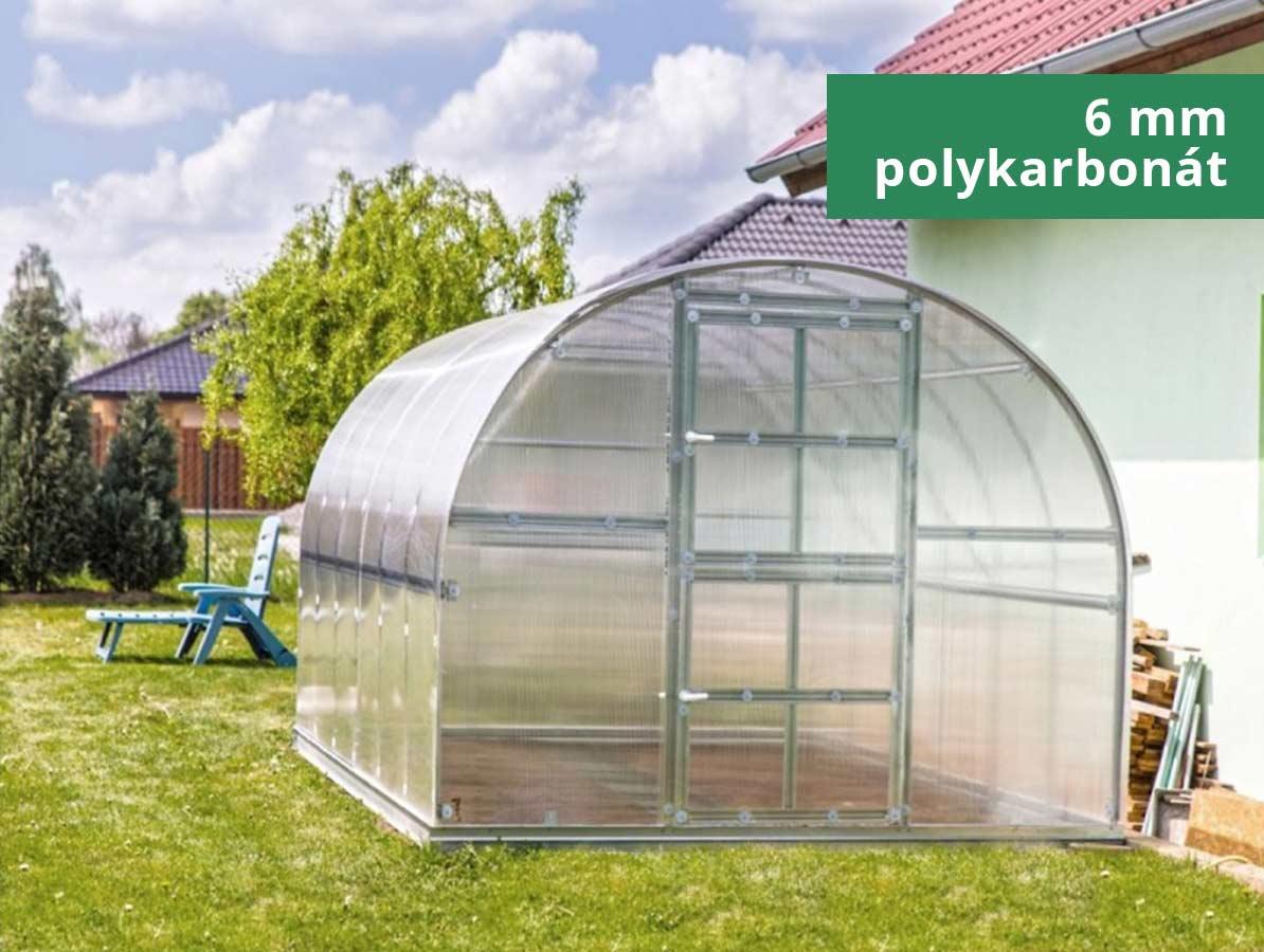 Gutta Zahradní skleník GARDENTEC CLASSIC Profi 4 x 3 m