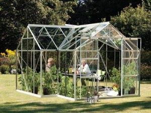 Vitavia Garden skleník VITAVIA SIRIUS PC 6 mm stříbrný