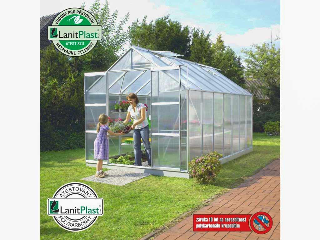 Vitavia Garden skleník VITAVIA URANUS 11500 PC 4 mm stříbrný