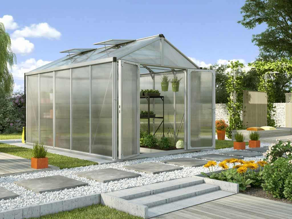 Vitavia Garden skleník VITAVIA ZEUS 10000 PC 10+10 mm