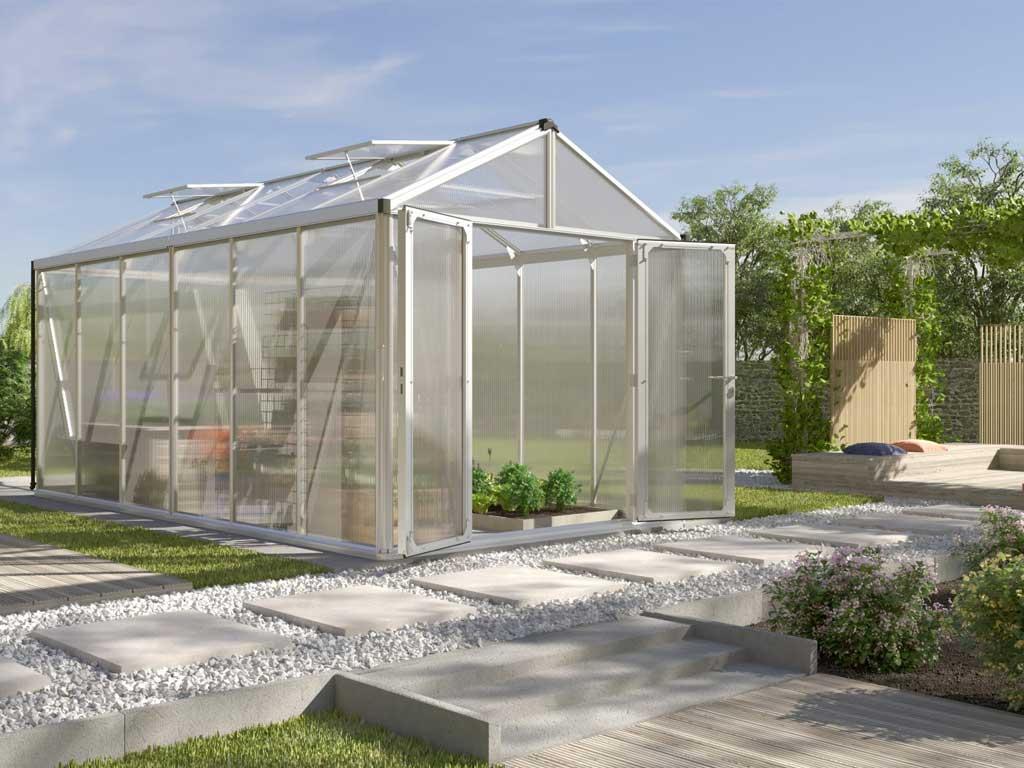 Vitavia Garden skleník VITAVIA ZEUS 11900 PC 10+10 mm