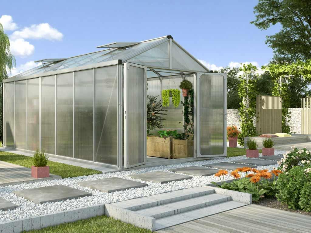 Vitavia Garden skleník VITAVIA ZEUS 13800 PC 10+10 mm