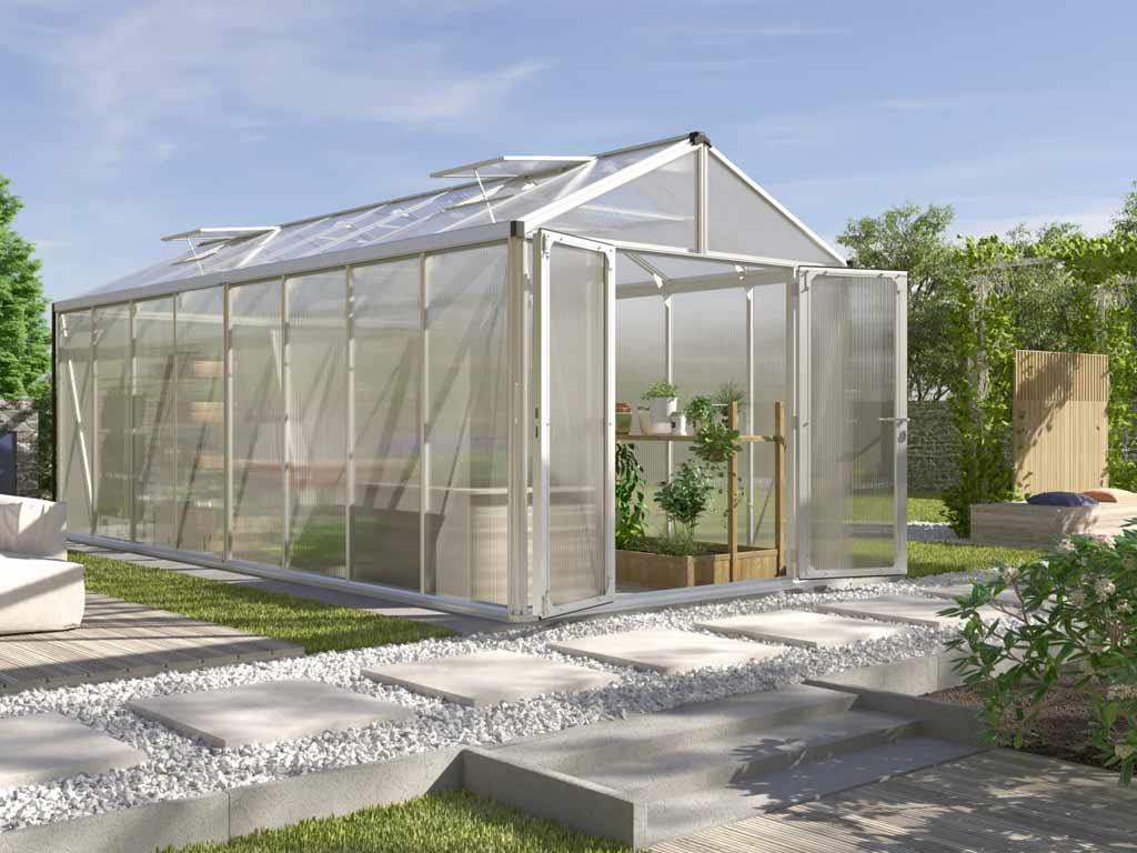 Vitavia Garden skleník Vitavia ZEUS 15700 PC 16+16 mm