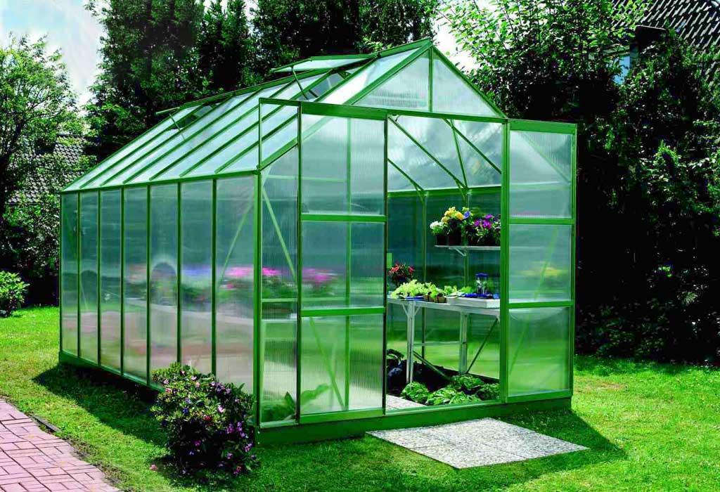 Vitavia Garden skleník VITAVIA URANUS 11500 PC 4 mm zelený