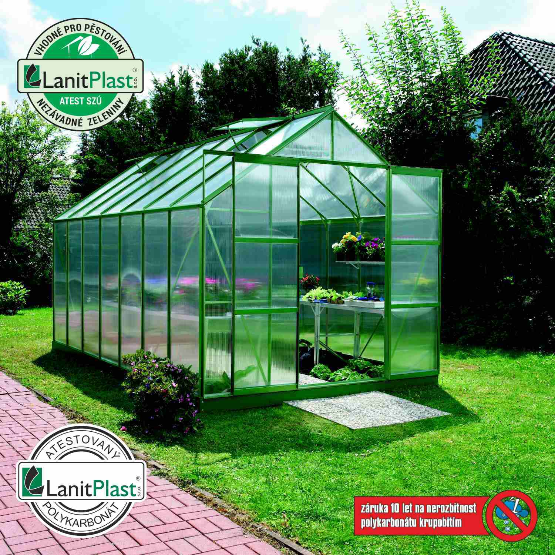 Vitavia Garden Skleník Vitavia URANUS 11500 PC 6 mm zelený