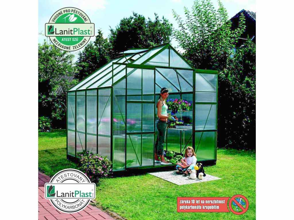 Vitavia Garden skleník VITAVIA URANUS 6700 PC 6 mm zelený