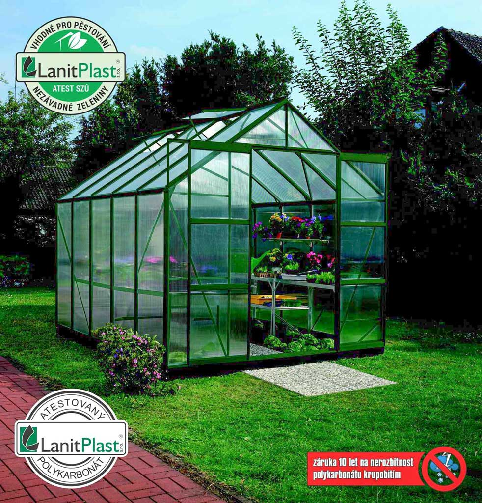 Vitavia Garden skleník VITAVIA URANUS 8300 PC 4 mm zelený