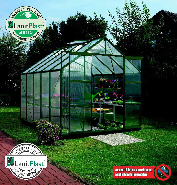 Vitavia Garden Skleník Vitavia URANUS 8300 PC 6 mm zelený
