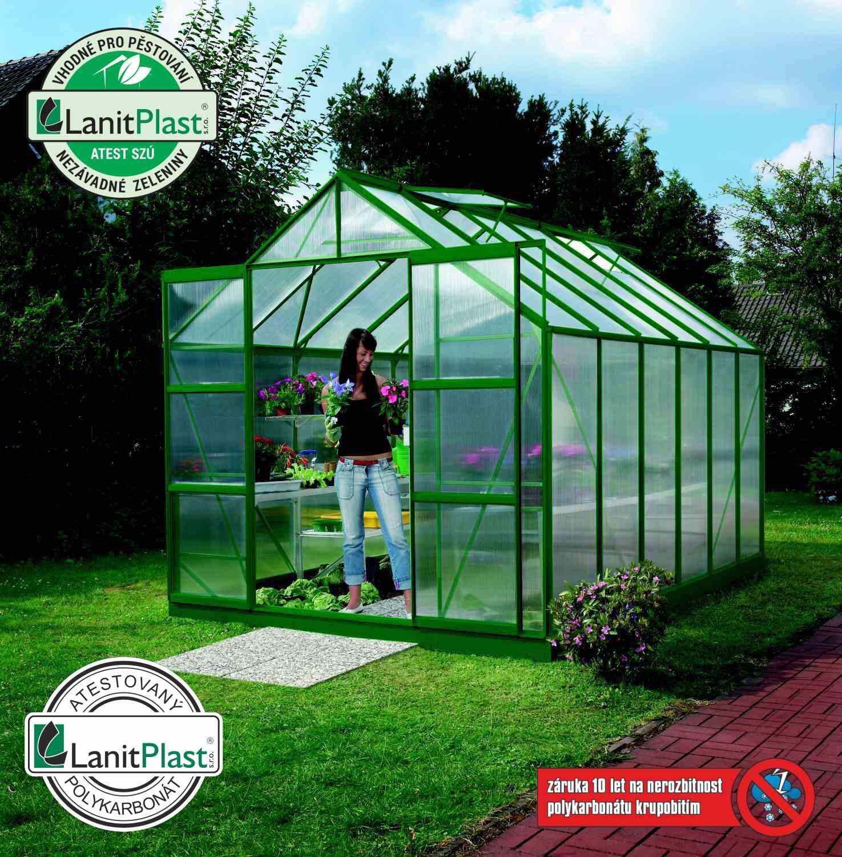 Vitavia Garden Skleník Vitavia URANUS 9900 PC 4 mm zelený