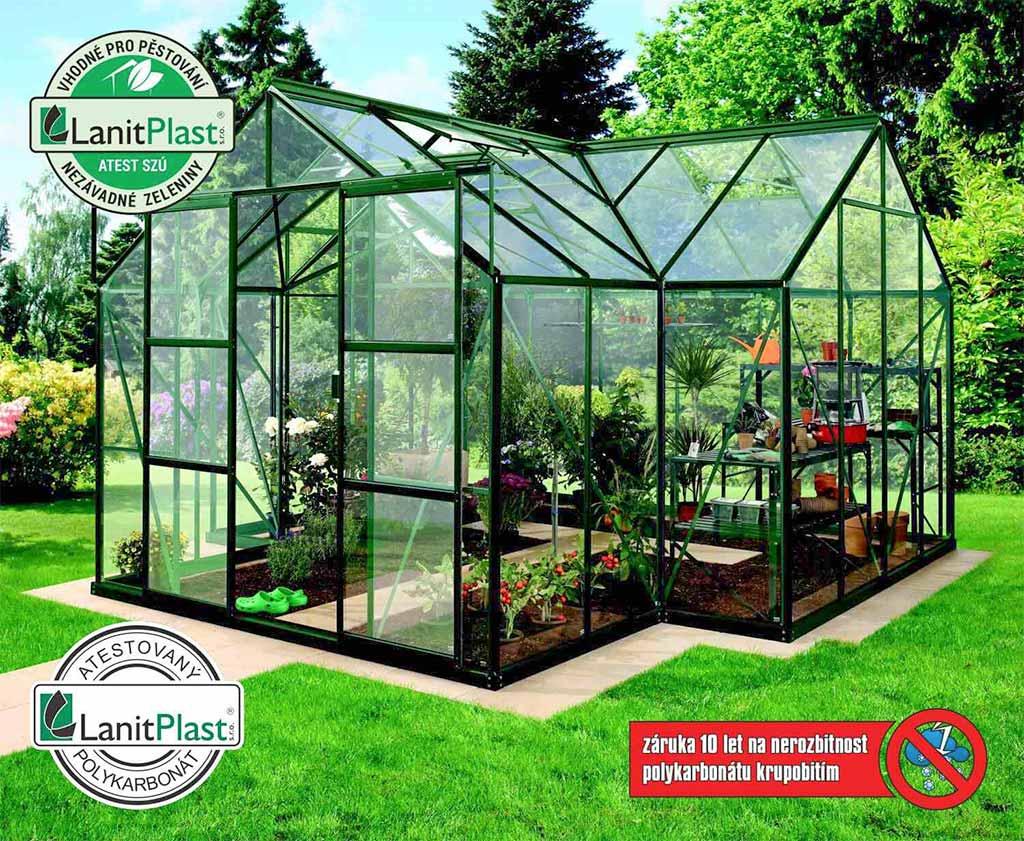 Vitavia Garden skleník VITAVIA SIRIUS PC 4 mm zelený