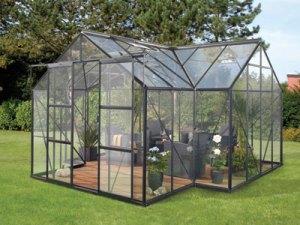 Vitavia Garden skleník VITAVIA SIRIUS PC 6 mm černý