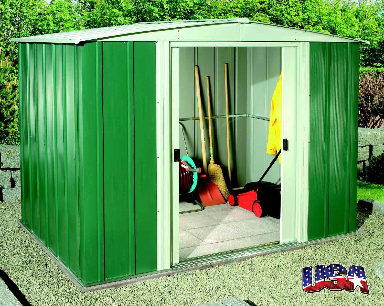 ARROW STORAGE PRODUCTS Zahradní domek ARROW DRESDEN 86 zelený
