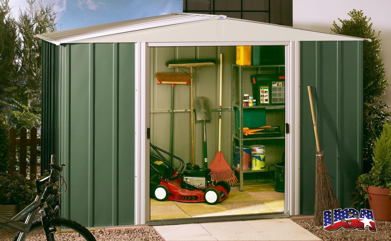ARROW STORAGE PRODUCTS Zahradní domek ARROW DRESDEN 1012 zelený