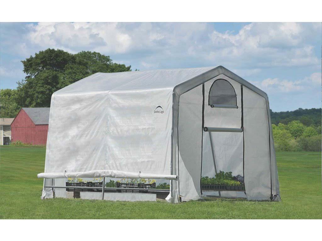 Plachtový skleník SHELTERLOGIC 3,0 x 3,0 m - 35 mm