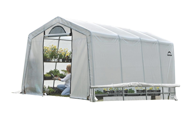 Plachtový skleník SHELTERLOGIC 3,0 x 6,1 m - 35 mm