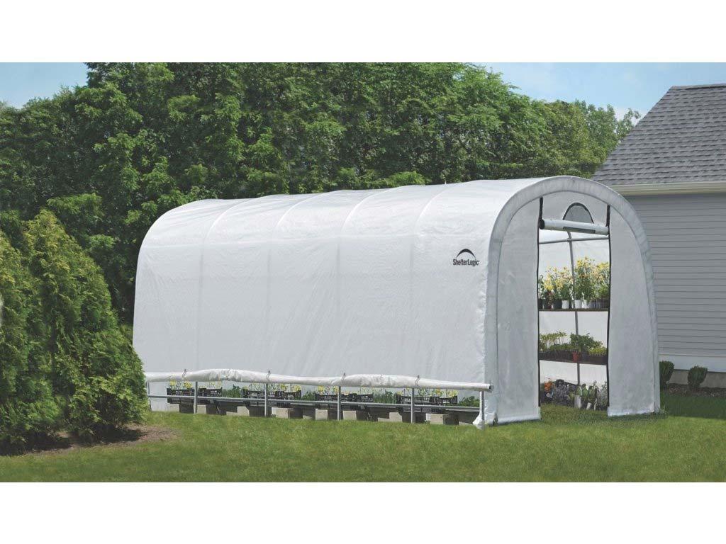 Plachtový skleník SHELTERLOGIC 3,7 x 6,1 m - 41 mm