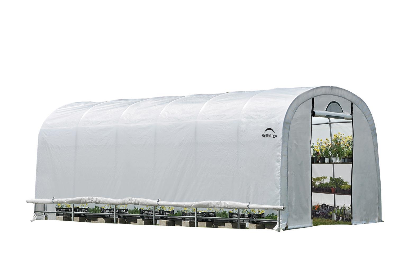 Plachtový skleník SHELTERLOGIC 3,7 x 7,3 m - 41 mm