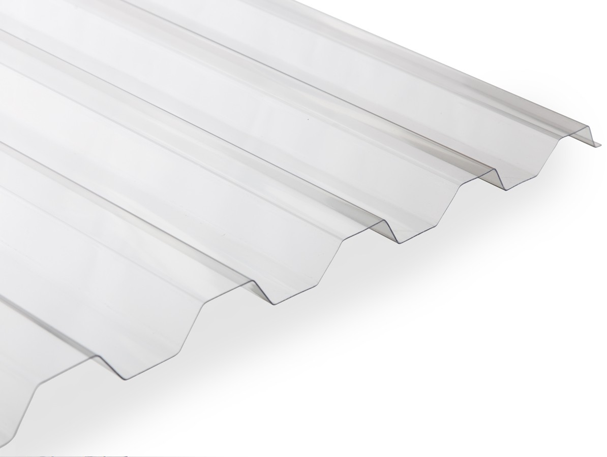 Gutta polykarbonátová trapézová deska Guttagliss Makro 2,5 x 1,06 m čirá