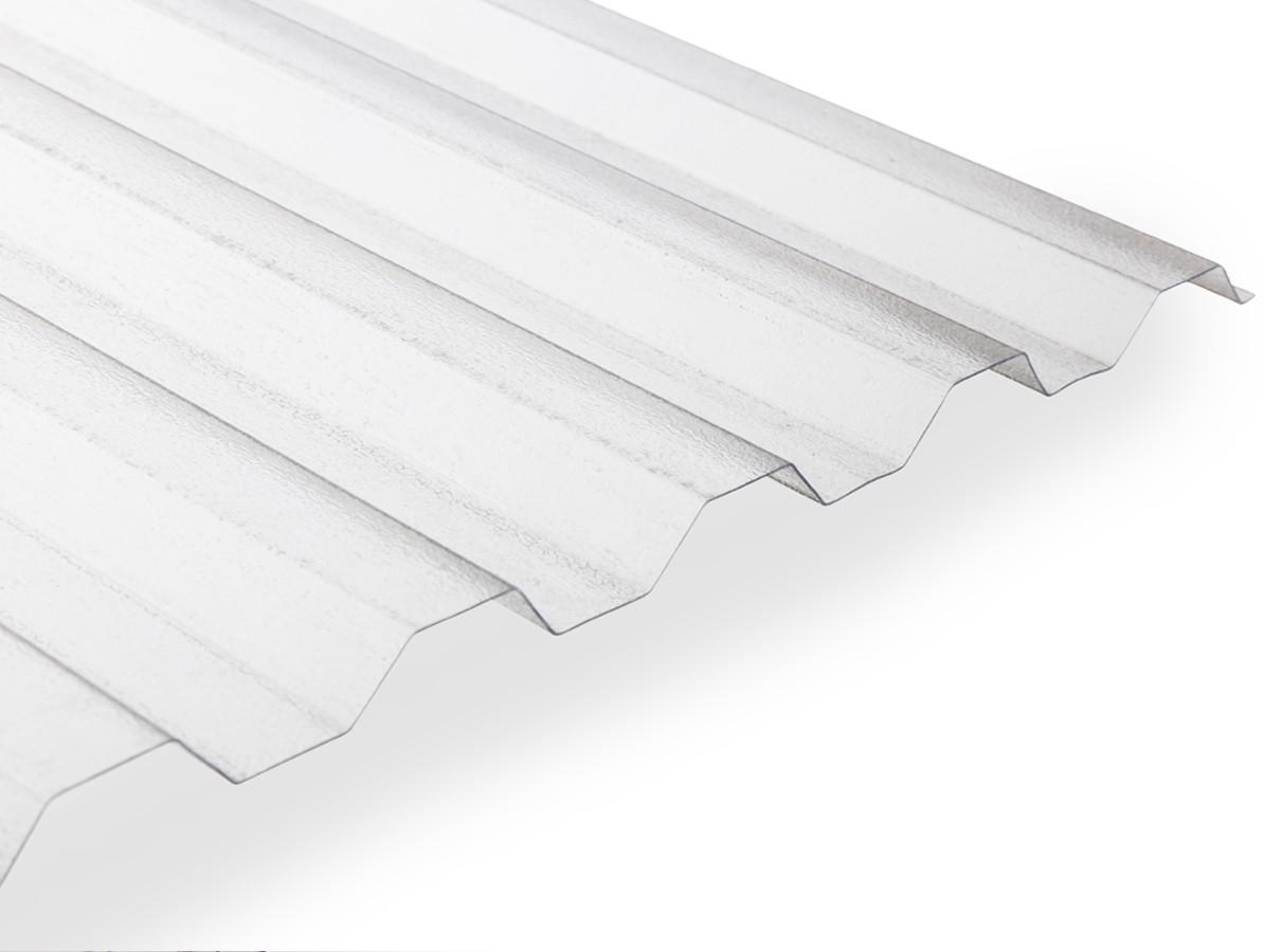 Gutta polykarbonátová trapézová deska Guttagliss Makro ST 2,5 x 1,06 m čirá