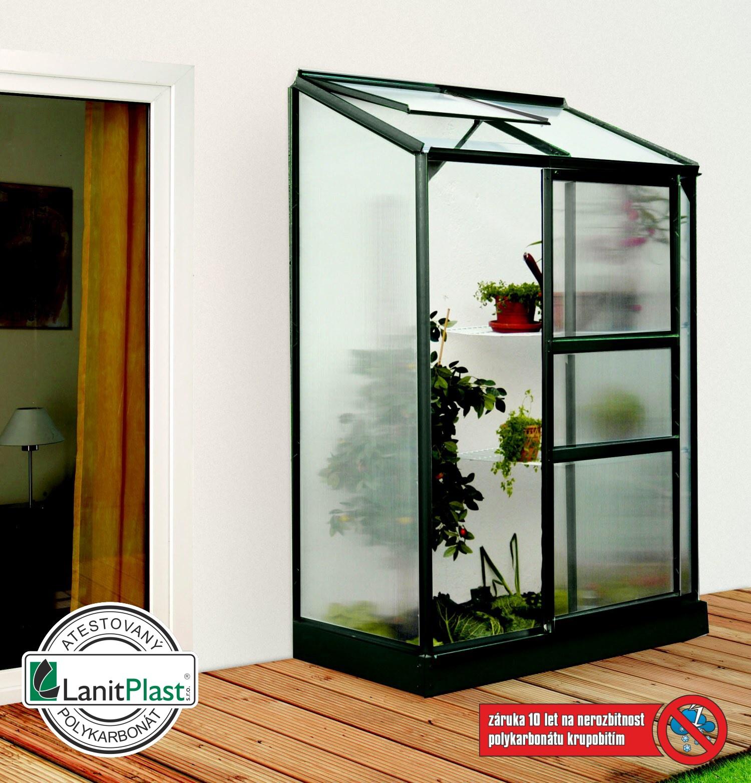 Vitavia Garden Skleník Vitavia IDA 900 PC 6 mm zelený