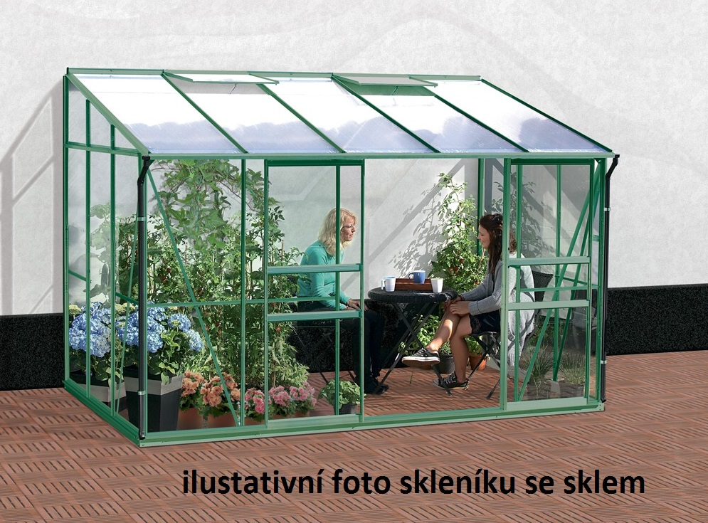 Vitavia Garden Skleník Vitavia IDA 6500 PC 4 mm zelený