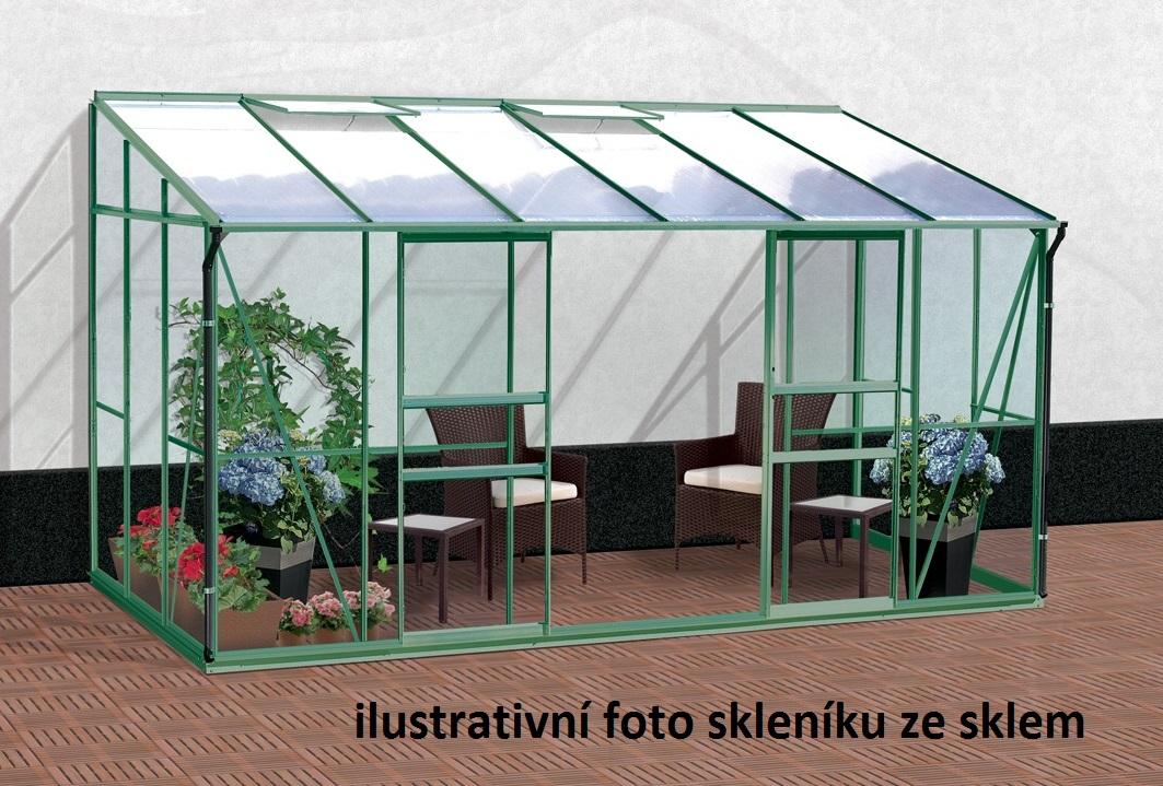 Vitavia Garden Skleník Vitavia IDA 7800 PC 6 mm zelený