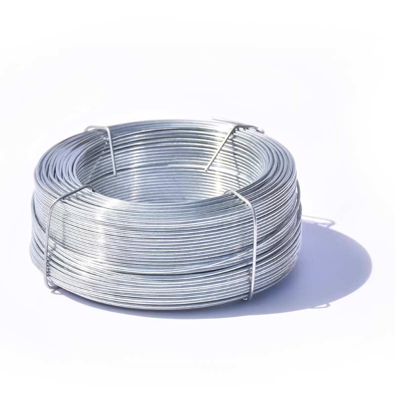 Vázací drát pozinkovaný (Zn) průměr 0,8 mm, délka 100 m