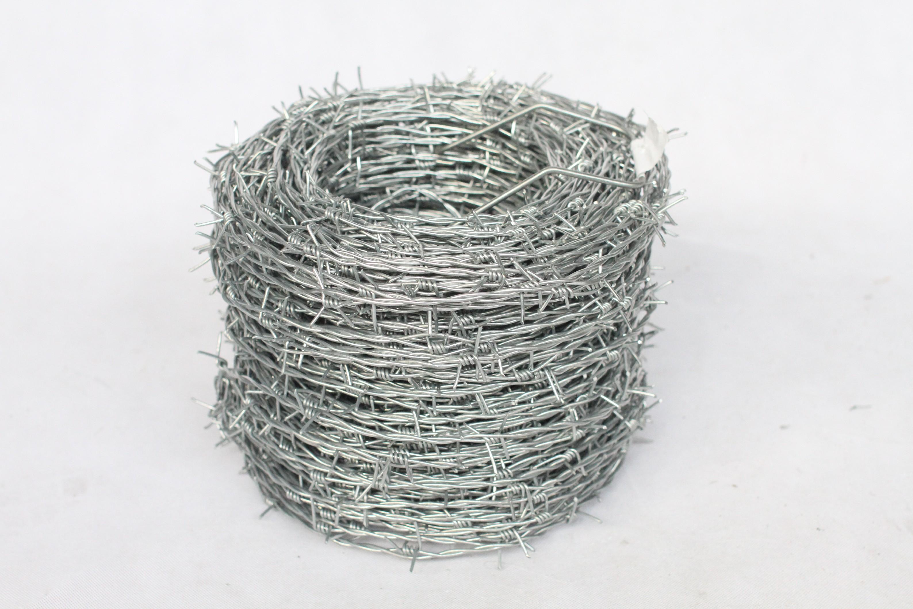 Ostnatý drát na plot pozinkovaný (Zn) průměr 1,8/2 mm, 250 m délka