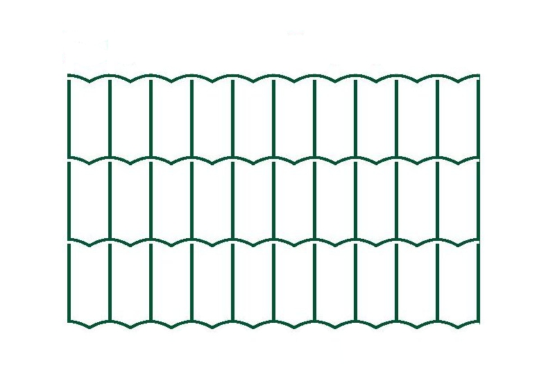 Svařované pletivo Hortaplast - 2,5 mm, 120 cm