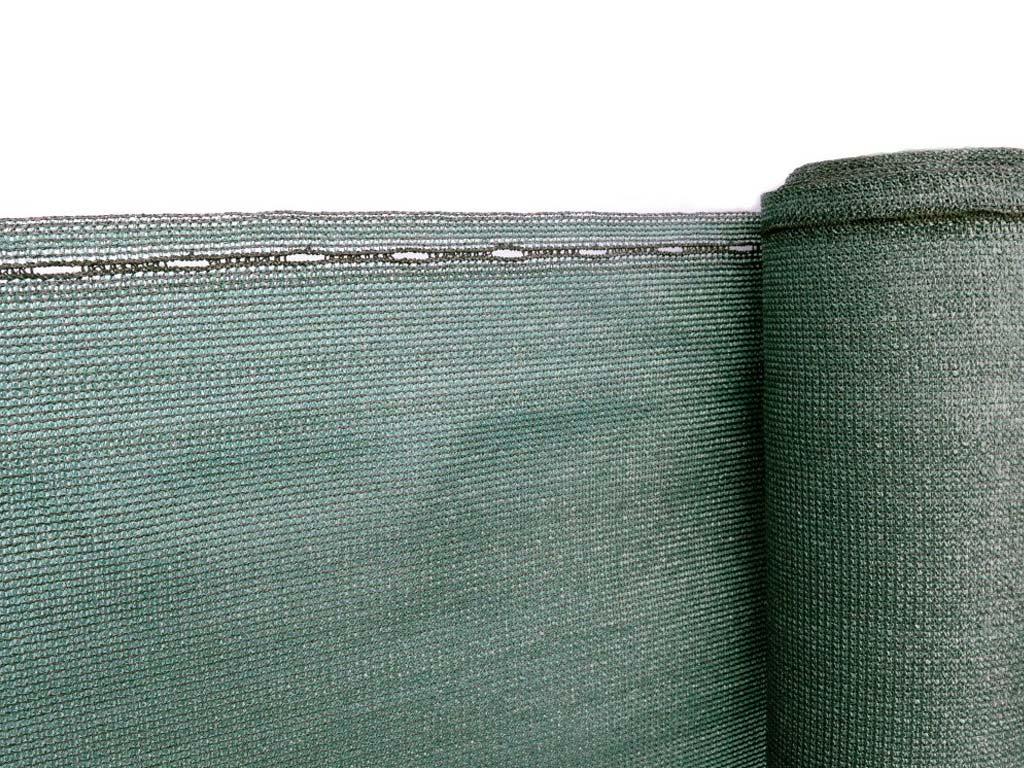 Stínící tkanina zastínění 90 % - výška 125 cm zelená