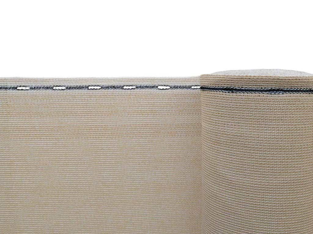 Stínící tkanina zastínění 90 % - výška 150 cm písková