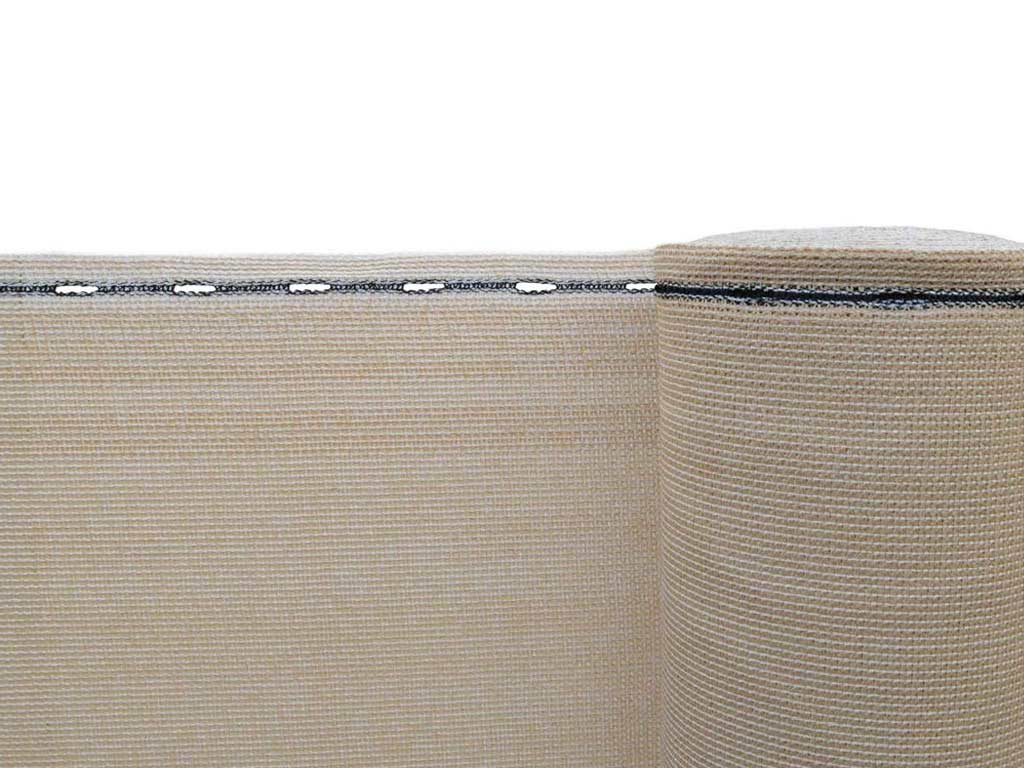 Stínící tkanina zastínění 90 % - výška 160 cm písková