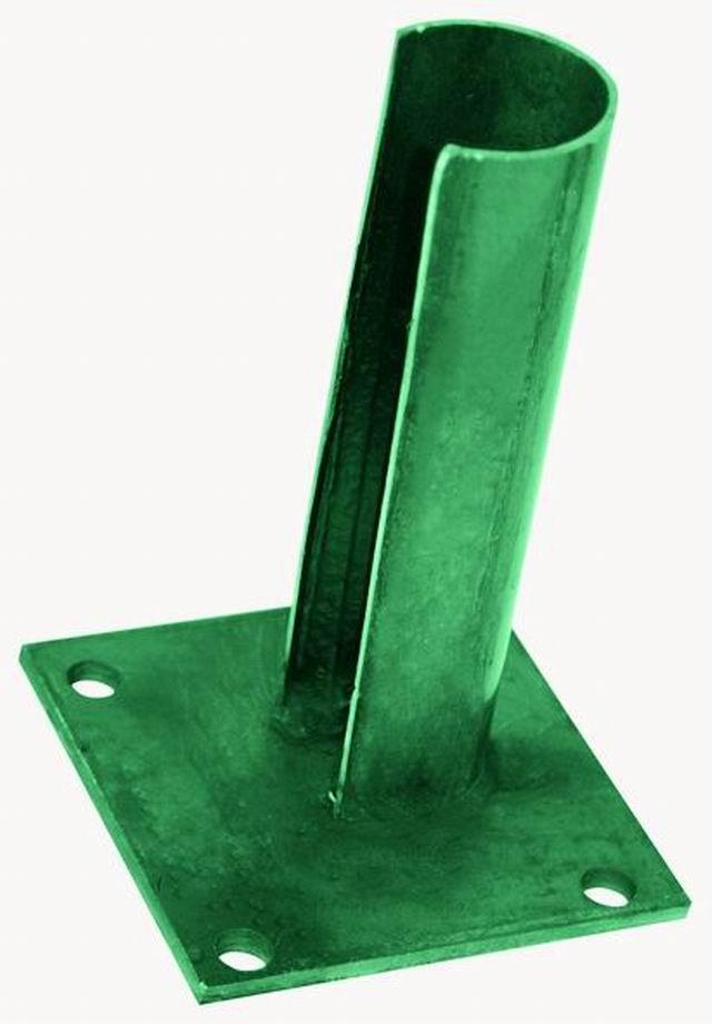 Patka na sloupek 38 mm zelená