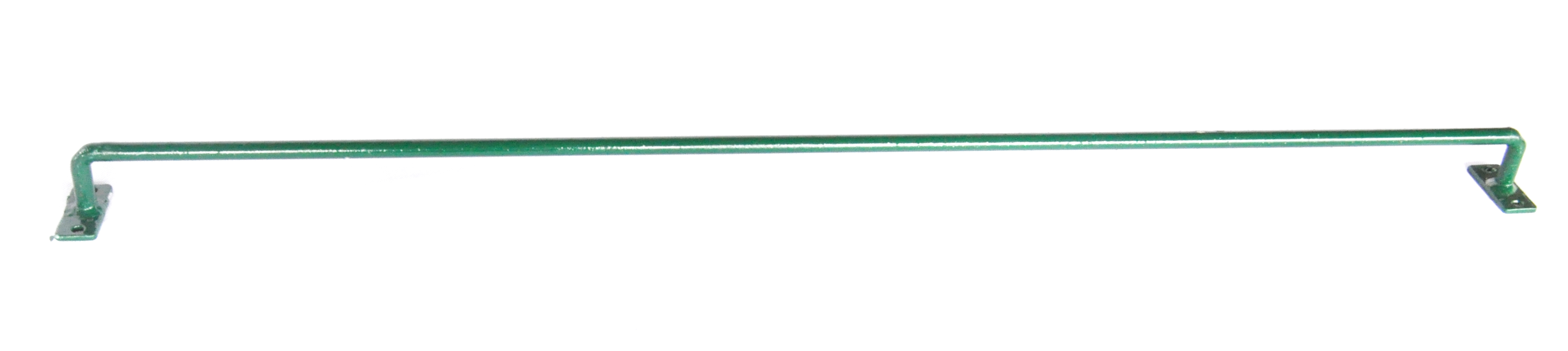 Konzole na zeď SUPER 100 cm, průměr 12 mm, zelená