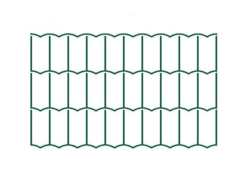 Svařované pletivo Hortaplast - 2,5 mm, 80 cm